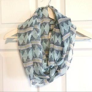 Accessories - Gauzy infinity scarf